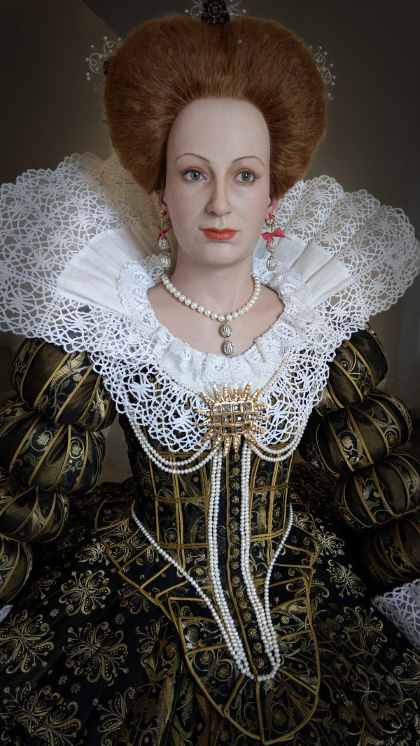 Silicone figure Sibylle Magdalene of Prussia